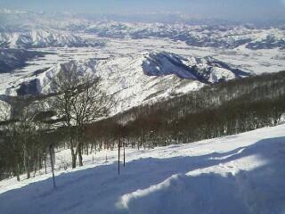 急斜面が長い|六日町八海山スキー場のクチコミ画像