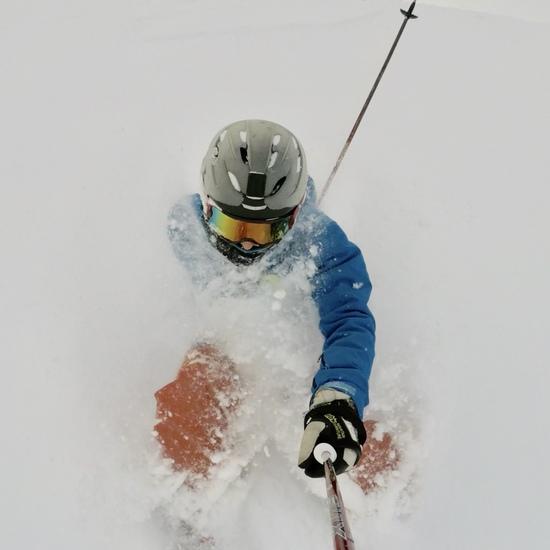 Japow穴場!|立山山麓スキー場のクチコミ画像