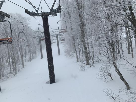 すごい地吹雪でした|蔵王温泉スキー場のクチコミ画像2