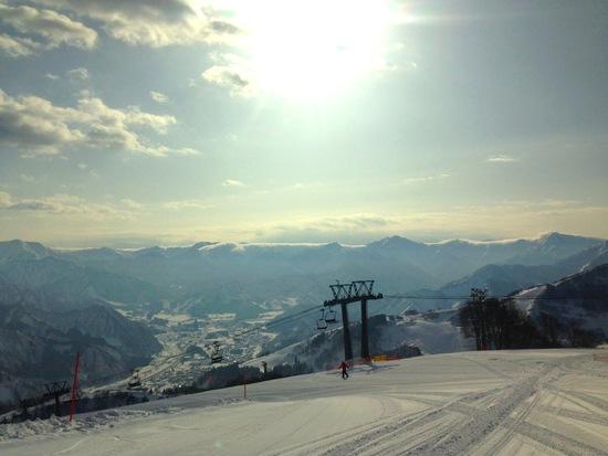 上級コースやロングランを求める人には物足りないかも。|GALA湯沢スキー場のクチコミ画像
