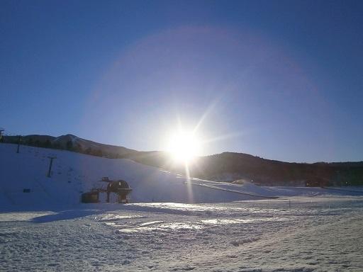 初すべり|スキージャム勝山のクチコミ画像