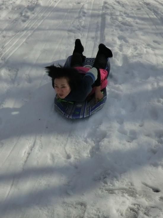 大人だって、ソリ遊びがした~い!!|たんばらスキーパークのクチコミ画像
