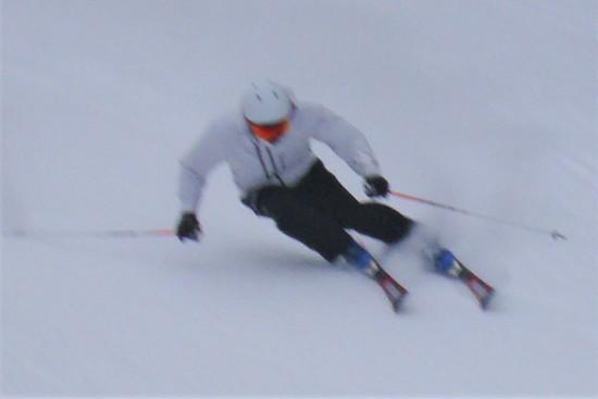 雪は少なく|信州松本 野麦峠スキー場のクチコミ画像