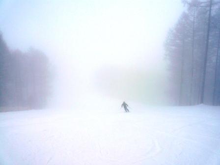 八千穂も霧の中|八千穂高原スキー場のクチコミ画像1