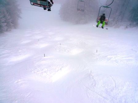 八千穂も霧の中|八千穂高原スキー場のクチコミ画像2