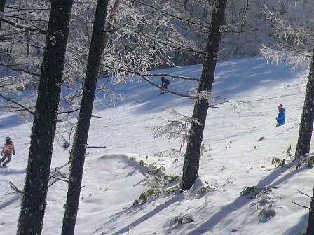 八千穂も霧の中|八千穂高原スキー場のクチコミ画像3