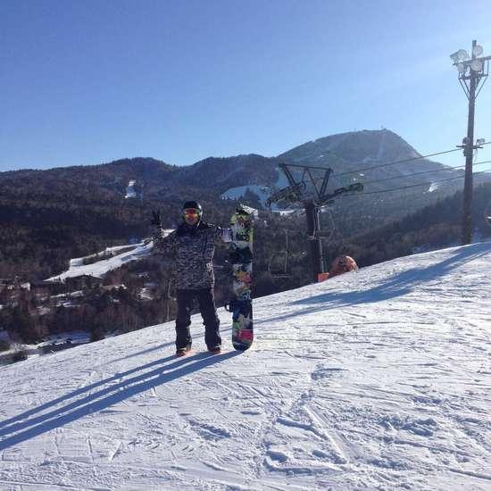 熊の湯!ついにスノーボード解禁!|志賀高原 熊の湯スキー場のクチコミ画像