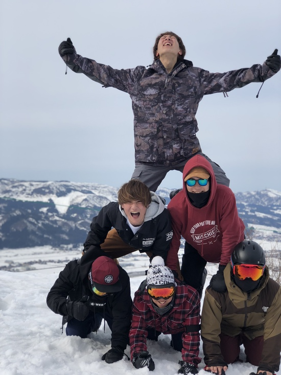 全力組体操|水上宝台樹スキー場のクチコミ画像