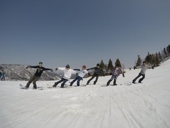 全力組体操|水上宝台樹スキー場のクチコミ画像2