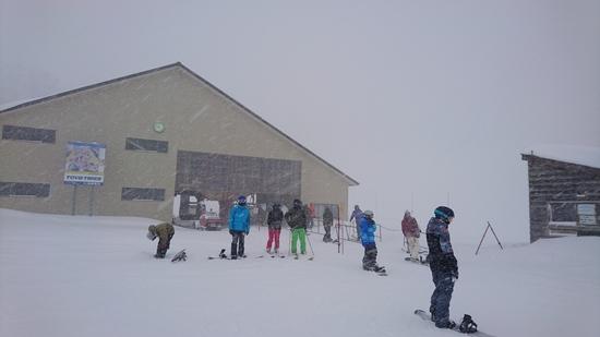 暖冬でも...|シャルマン火打スキー場のクチコミ画像