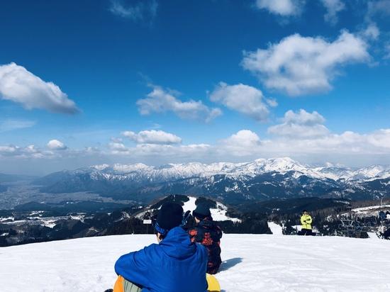 良い天気|スキージャム勝山のクチコミ画像