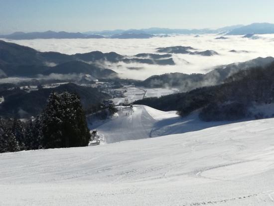 雲海出ました|神鍋高原 万場スキー場のクチコミ画像2