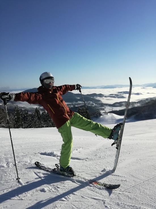 雲海出ました|神鍋高原 万場スキー場のクチコミ画像3