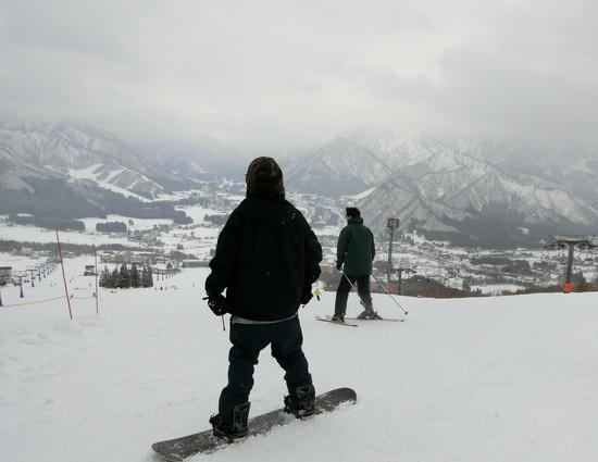多少雲かかっていても大丈夫|岩原スキー場のクチコミ画像