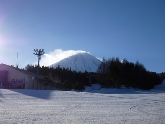 スキー日和のもとでしたが…|ふじてんスノーリゾートのクチコミ画像