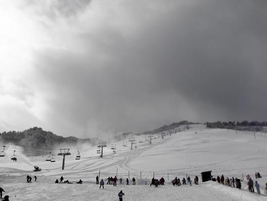 年末から降り続いた雪でゲレンデ最高でした。|モンデウス飛騨位山スノーパークのクチコミ画像