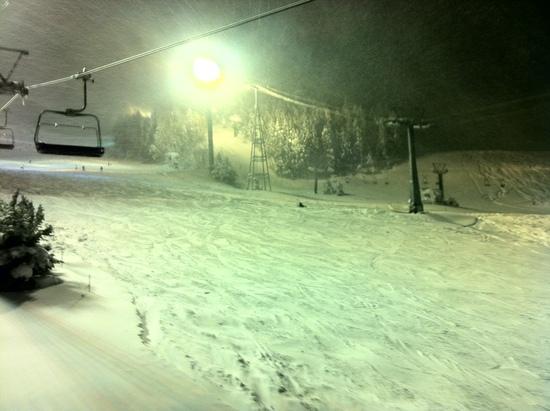 ナイターパウダーー|苗場スキー場のクチコミ画像