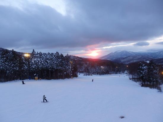 ナイター空いてました|箕輪スキー場のクチコミ画像