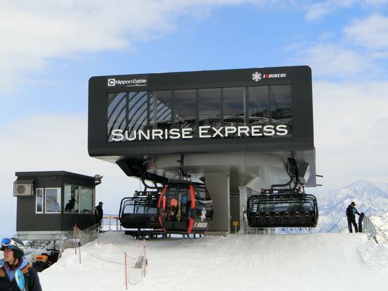 リフトも新設|石打丸山スキー場のクチコミ画像2