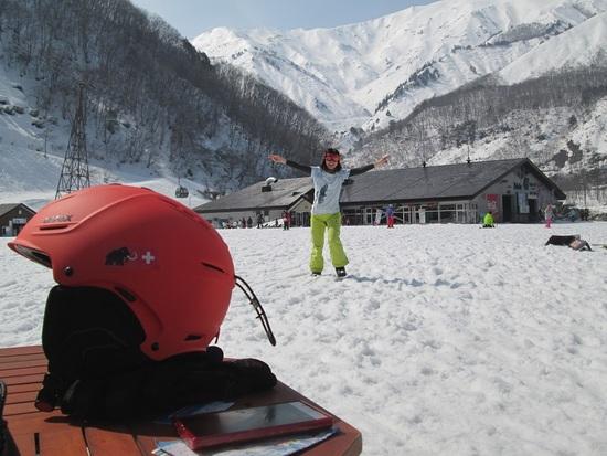 春スキー47にて|Hakuba47 ウインタースポーツパークのクチコミ画像