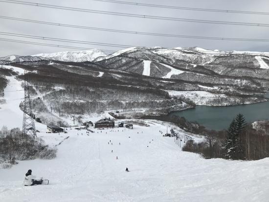 他がまだ全面滑走できない中で。。。|かぐらスキー場のクチコミ画像