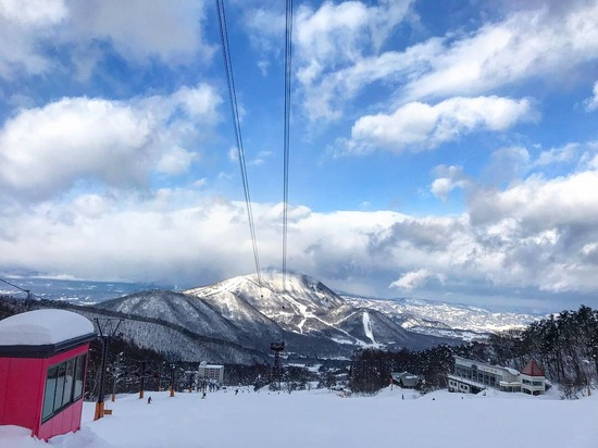 雪質パウダー!初心者も上級者も楽しめる♪|竜王スキーパークのクチコミ画像2