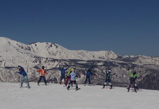 これぞ春スキー!|白馬八方尾根スキー場のクチコミ画像