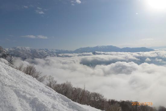 オープンしました八海山。|六日町八海山スキー場のクチコミ画像