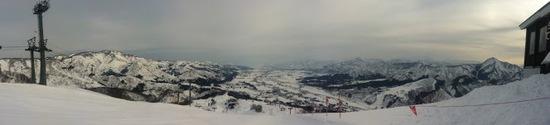 楽しめるビッグゲレンデです|石打丸山スキー場のクチコミ画像