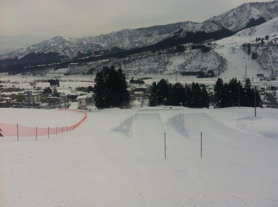 楽しめるビッグゲレンデです|石打丸山スキー場のクチコミ画像2