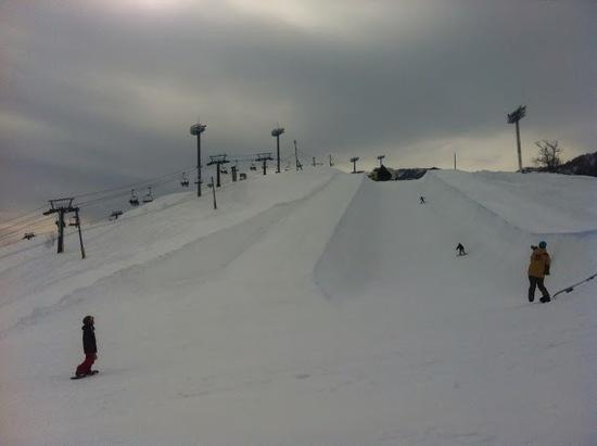 楽しめるビッグゲレンデです|石打丸山スキー場のクチコミ画像3