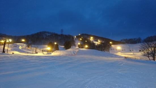 ナイターもすべりゃすかったです。|さっぽろばんけいスキー場のクチコミ画像