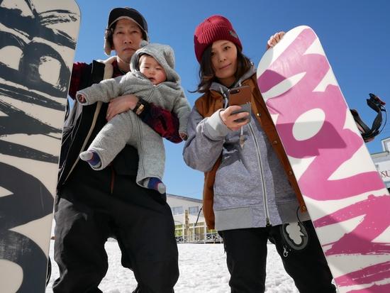 スノーボードファミリー|モンデウス飛騨位山スノーパークのクチコミ画像