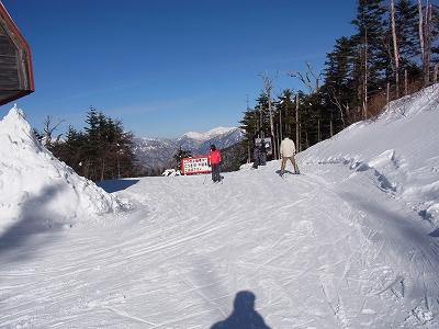 暖かな一日|信州松本 野麦峠スキー場のクチコミ画像