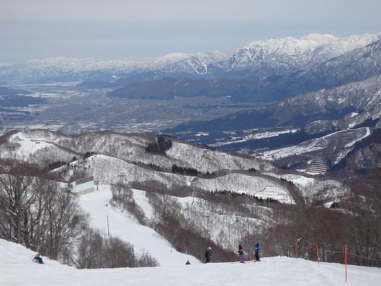 広い範囲が滑走可能 GALA湯沢スキー場のクチコミ画像2