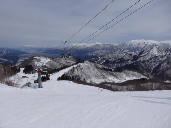 広い範囲が滑走可能 GALA湯沢スキー場のクチコミ画像3