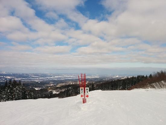 当間ゲレンデはストレスフリー|上越国際スキー場のクチコミ画像