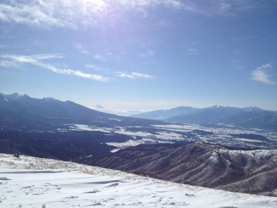 最高のお天気 車山高原SKYPARKスキー場のクチコミ画像