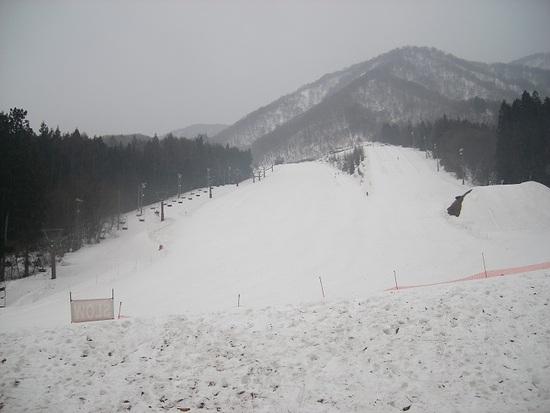 ときおり大雨|白馬さのさかスキー場のクチコミ画像