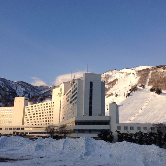 非圧雪コースが楽しい!|湯沢中里スノーリゾートのクチコミ画像