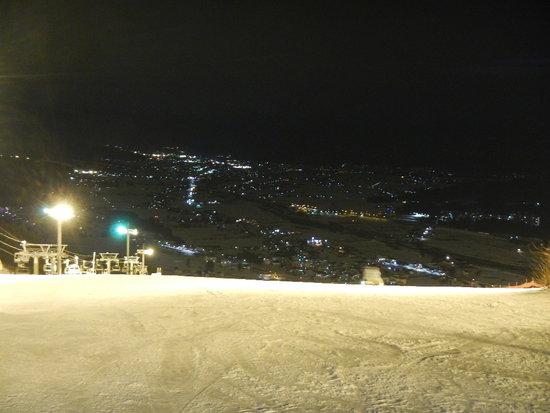 夜景も綺麗|石打丸山スキー場のクチコミ画像