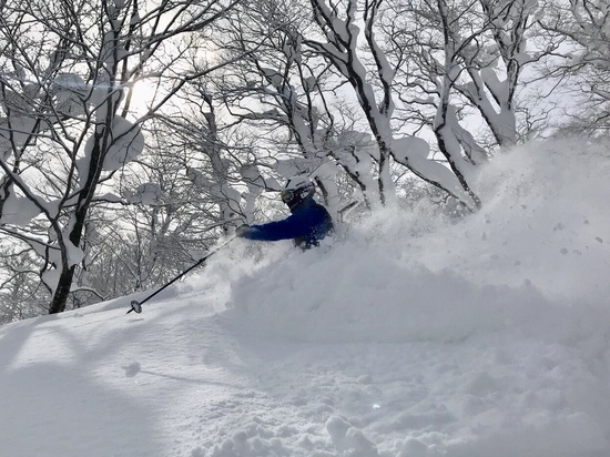 ウワサどおりの豪雪|夏油高原スキー場のクチコミ画像