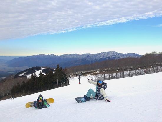 ゲレンデと雲の平行線|スキージャム勝山のクチコミ画像