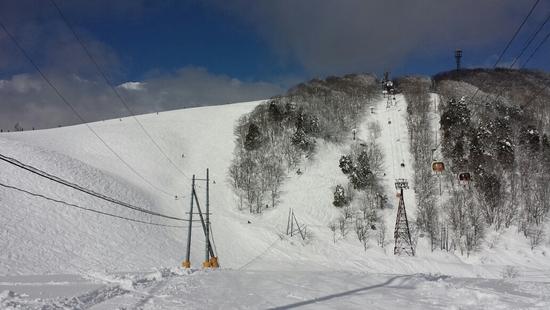 コースが自然地形で楽しい|白馬岩岳スノーフィールドのクチコミ画像