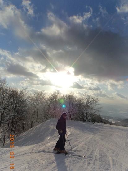 景色のすばらしいスキー場|スキージャム勝山のクチコミ画像1