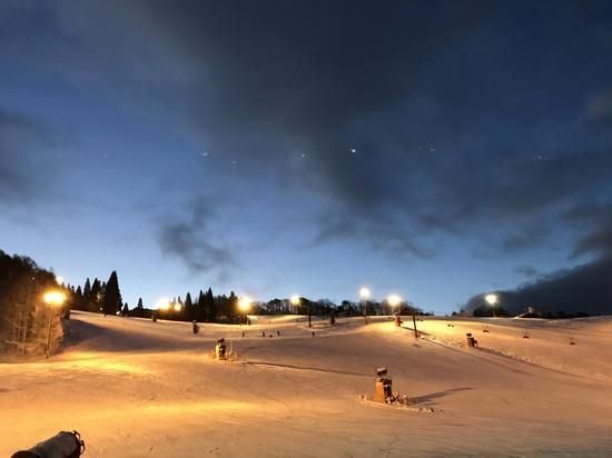 年末滑り|鷲ヶ岳スキー場のクチコミ画像1