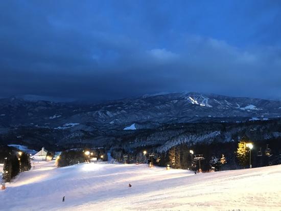 年末滑り|鷲ヶ岳スキー場のクチコミ画像2