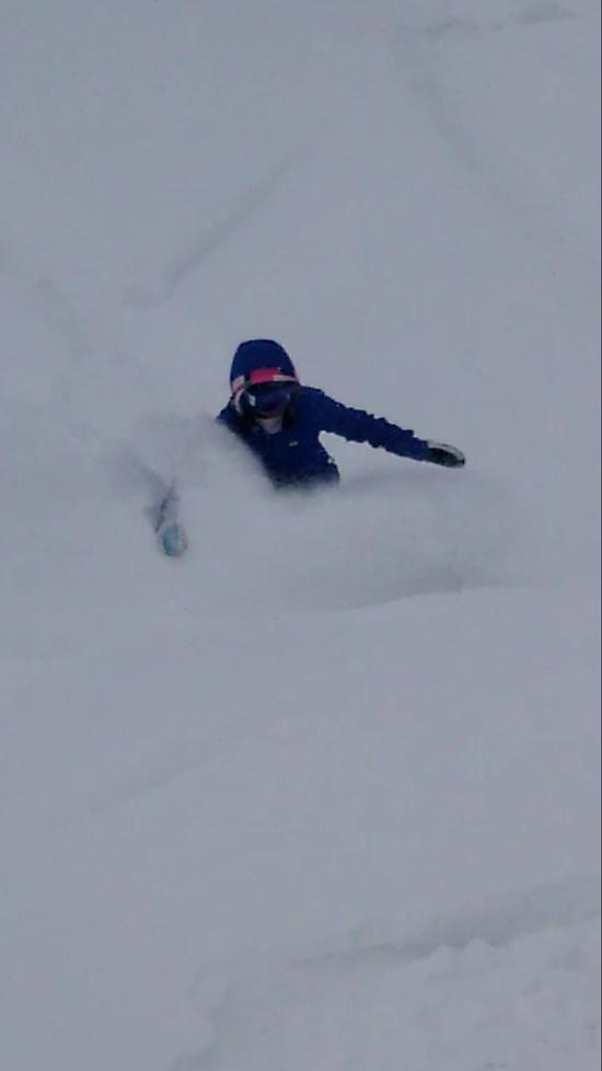 正月 パウダー|戸狩温泉スキー場のクチコミ画像