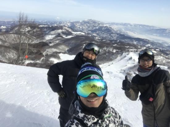 景色最高です!!|斑尾高原スキー場のクチコミ画像