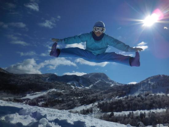 日本最高峰:志賀高原:横手山、一っ跳び|志賀高原 熊の湯スキー場のクチコミ画像